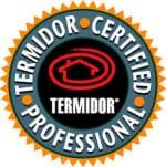 Termidor Certified Professional Seal