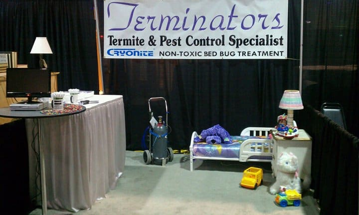 Terminators Cryonite Bed Bugs Treatment