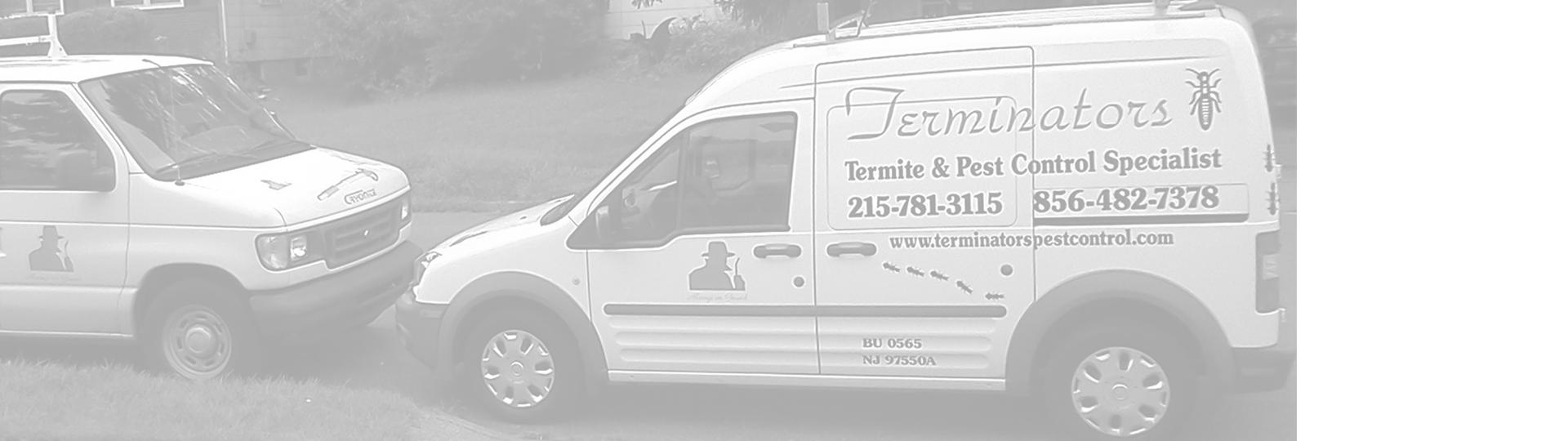 Terminators Pest Control at work