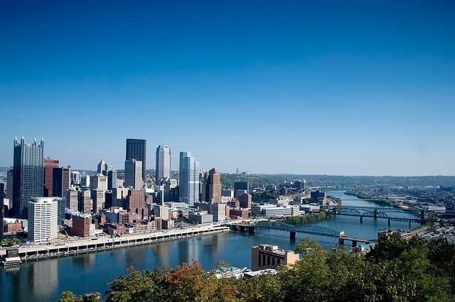 pittsburg skyline